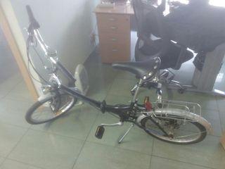 bicicleta plegable Amat