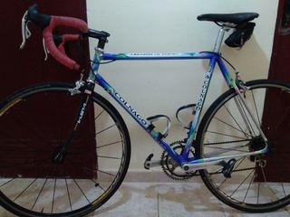 bicicleta acero colnago Master