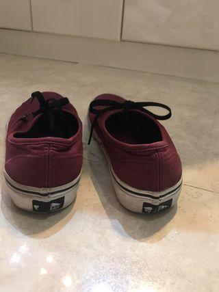 En Mano Por € Zapatos 25 De Segunda Palma 38'5 Vans Originales BCxorde