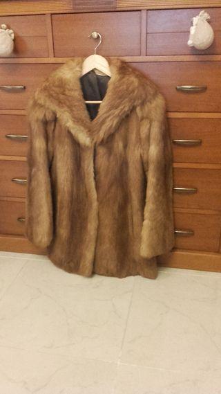 abrigo piel