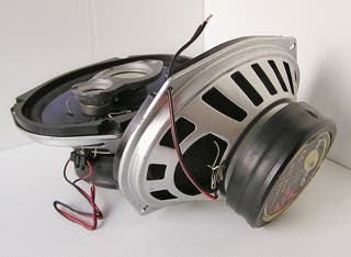 Altavoces 150w coaxiales ovalados audiotop