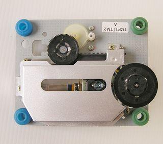 Lector Laser CD DVD con motores y reductora