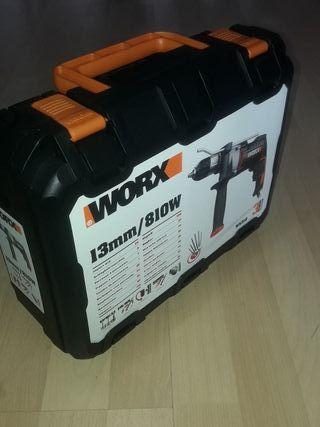 TALADRO WORX WX318 atornillador,percutor taladrado