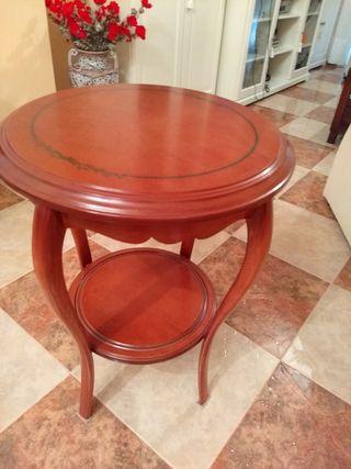 mesa rinconera madera