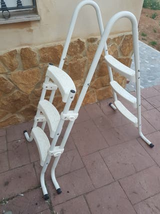 Escalera Piscina portátil