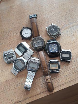 Lote relojes digitales