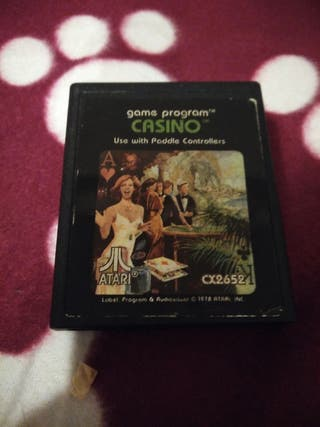 Juego Atari VCS 2600 CASINO envío gratuito.