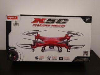 Drone Syma X5C Edición Especial Rojo NUEVO+EXTRAS