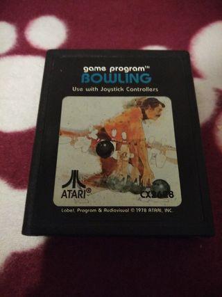 Juego Atari VCS 2600 BOWLING envío gratuito.