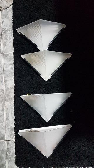 4x apliques focos lamparas