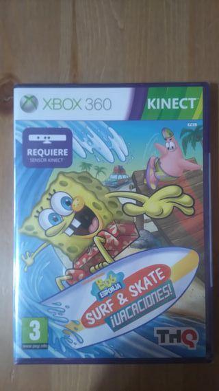 Bob esponja Surf & Skate para Xbox360