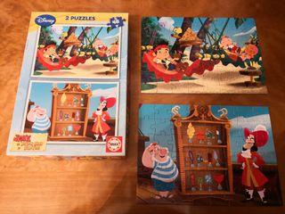 puzzle jake y los piratas