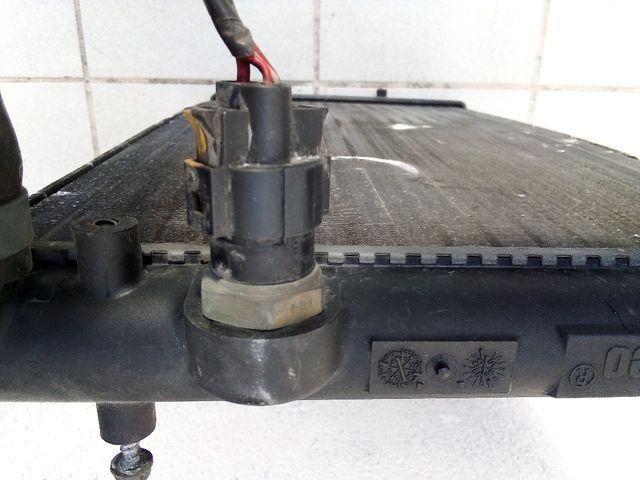 Radiador modelo PA66-GF30 para coche