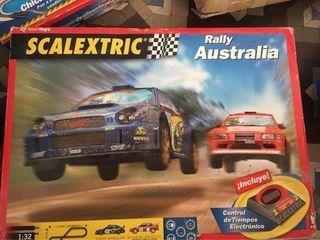 Scalextric Rally Australia+REGALO Curva deslizante