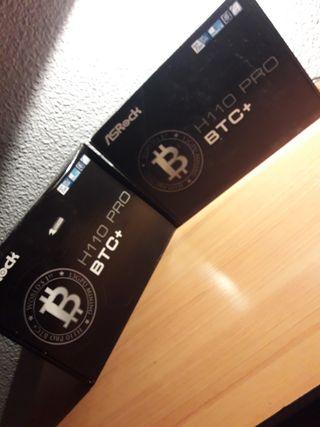 Placas Base ASRock H110 Pro BTC+