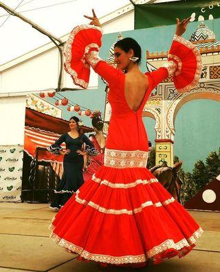vestidos flamenco y feria ,nuevos