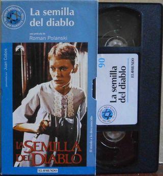 VHS: La semilla del Diablo. Roman polanski