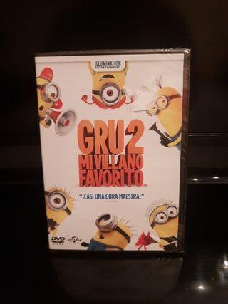 Grau 2 mi villano favorito en dvd precintado nueva