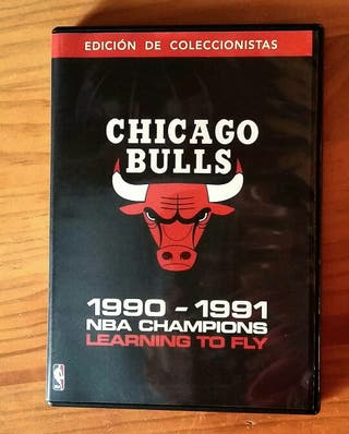 Chicago Bulls 90/91 NBA Champions Learning to fly
