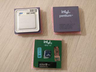 Procesadores antiguos Intel y AMD