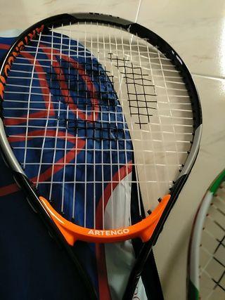 lote raquetas tenis