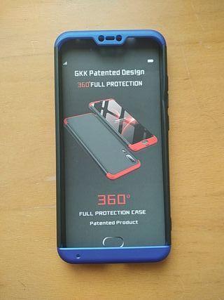 Xiaomi Redmi 6 Pro carcasa 360° y protector