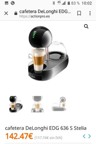 cafeteria dolce gusto stelia