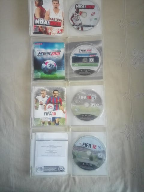 Juegos PES, FIFA y NBA 2K PS3