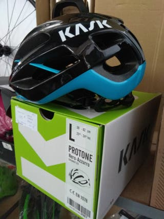 Casco Kask Protone Azzurro de Ciclismo
