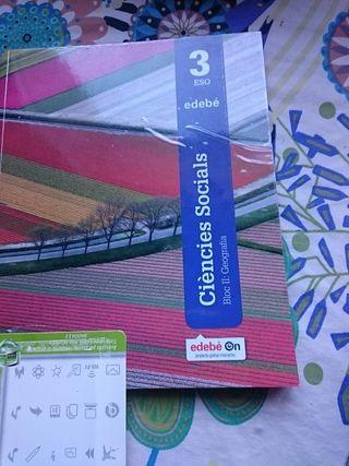 libro 3eso ciencias sociales bloc ll EDEBE