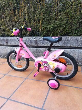 bicicleta infantil, regalo casco