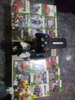 consola Xbox 360 mas juegos