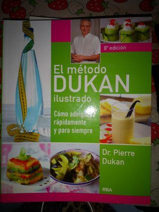 Libro método DUKAN ilustrado, muchísimas recetas
