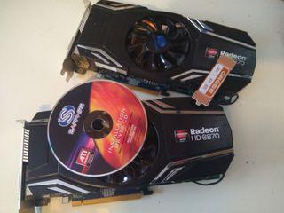 Tarjeta gráfica AMD Radeon HD 6870