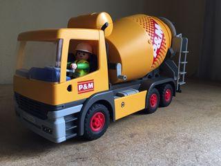 Camion hormigonera playmobil