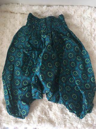 Pantalones cagados bebé