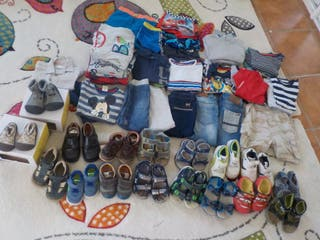 Lote zapatos ropa niño