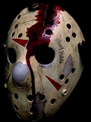 Mascara de Jason Voorhees parte IV