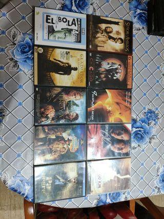 10 Peliculas DVD