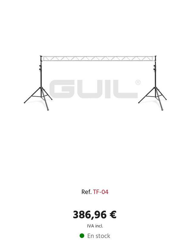 Puente Truss de iluminación Pro luces / focos