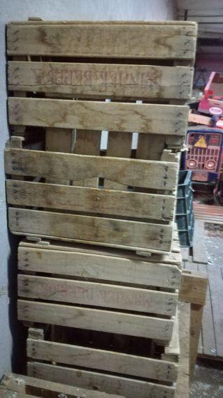 Cajones fruta de segunda mano en wallapop - Cajones de madera para frutas ...