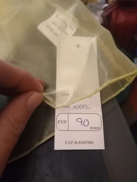chaqueta / bolero /torera