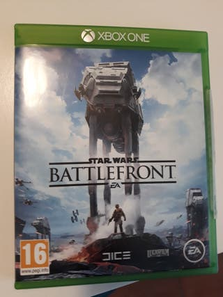 Juego Battlefront Xbox one