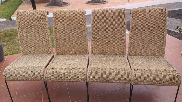 sillas exterior o interior