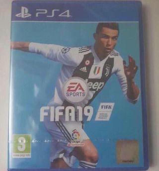 FIFA19 para PS4 sin abrir