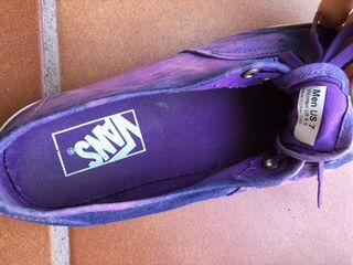 Zapatillas deportivas Vans talla 38.