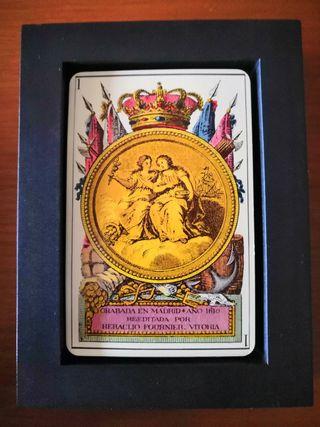 Baraja de Cartas Española Neoclásica 1810