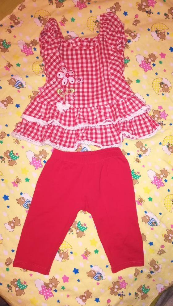 Blusa con pantalón bebé