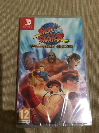 Juego street fighter Nintendo switch