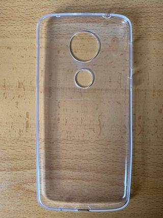 Funda transparente Motorola e5 plus